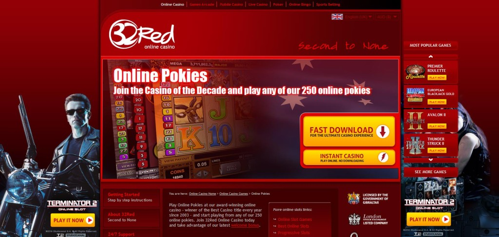 betting pokies online